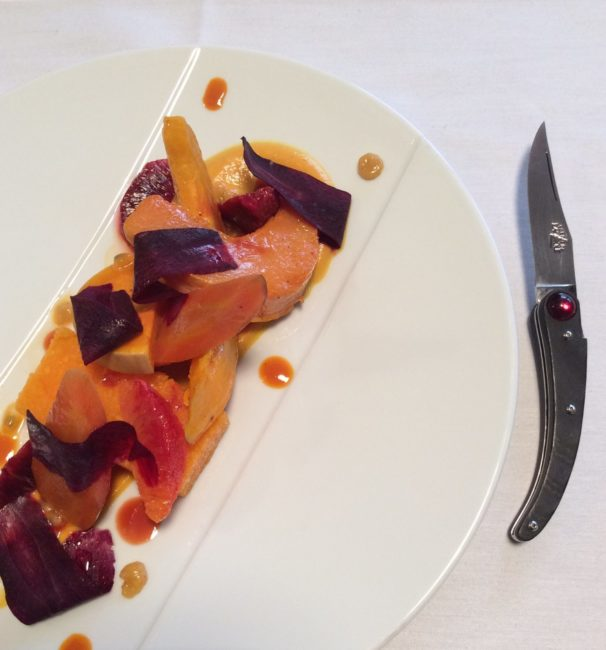 becher gare - A Laguiole knife and a chef: Meet Jeremmy Parjouet and Dandy