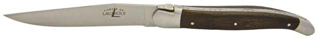 couteau laguiole chene fossilise - Subfossil oak Millennium knife by Laguiole
