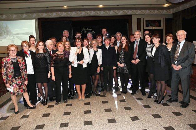 Une amicale dynamique autour de Brigitte Courty, présidente de la Laguiolaise (photo Sylvie Bonnet)