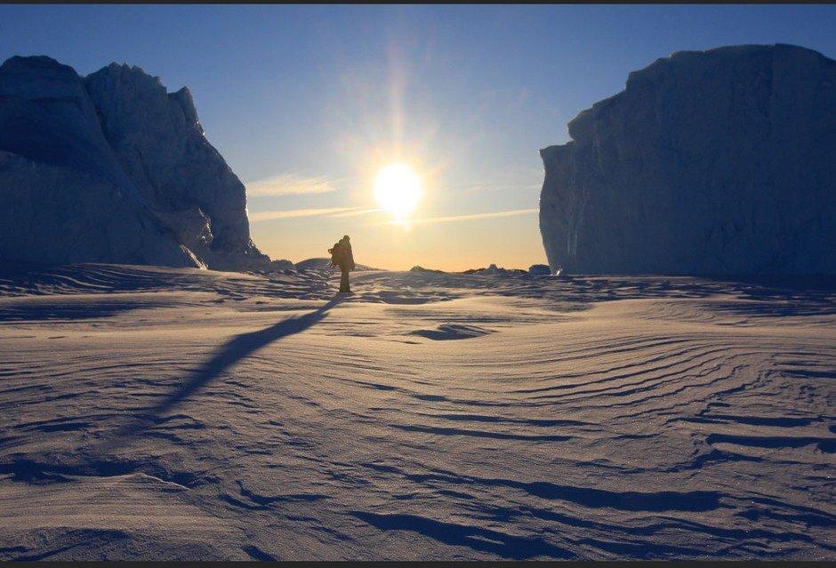 La Terre Adélie, autre destination fétiche de l'explorateur.