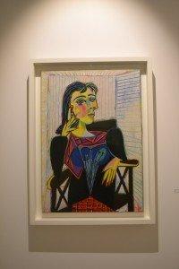Portrait de Dora Maar par Picasso, visible lors de l'exposition aveyronnaise.