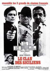 Le Clan des Siciliens, film magistral tiré du roman éponyme.
