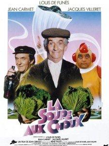 La soupe aux choux, son dernier film.