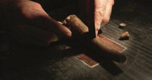 fabrication d'un manche de couteau laguiole