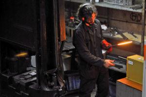 visite des ateliers Forge de Laguiole