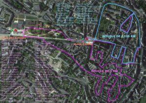 parcours du marathon de Rodez