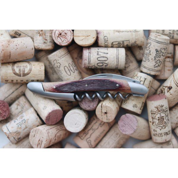 Kopie von D7E7D611 7886 4F9B BD1E 3FF03BCAB7A5 - Sommelier Messer, satiniert mit Griff aus Fasseiche