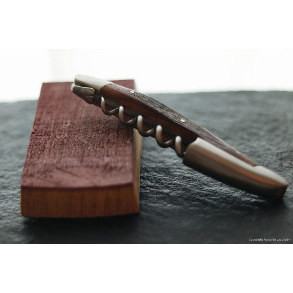 SOM CHB 5 - Sommelier Messer, satiniert mit Griff aus Fasseiche