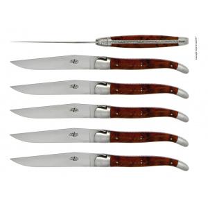 Acheter couteaux laguiole en thuya
