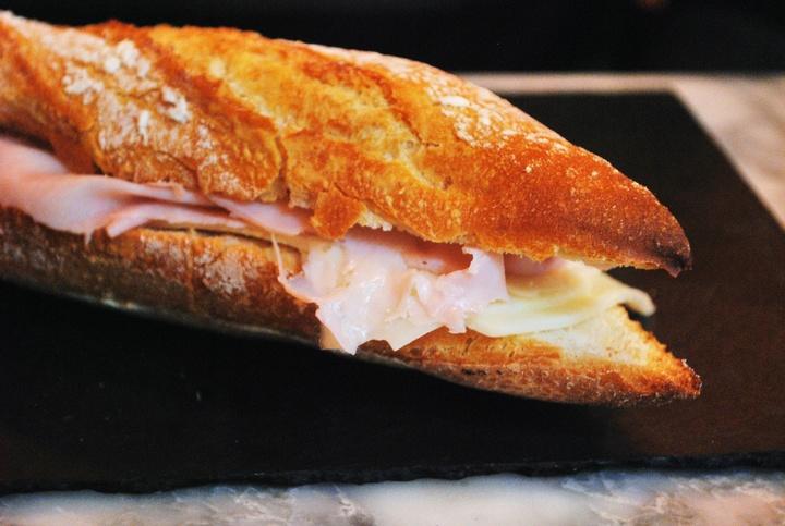 recette du vrai sandwich jambon fromage