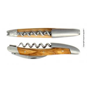Acheter en ligne un tire bouchon laguiole en olivier