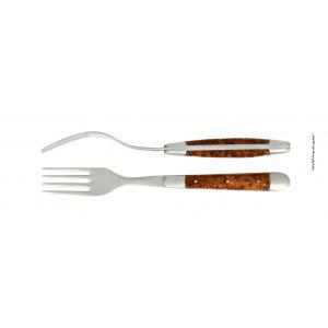 Acheter coffret fourchettes thuya Forge de Laguiole