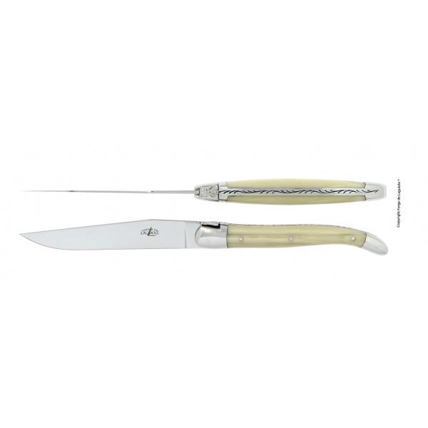 Achat en ligne de couteaux Laguiole de table admissibles lave-vaisselle