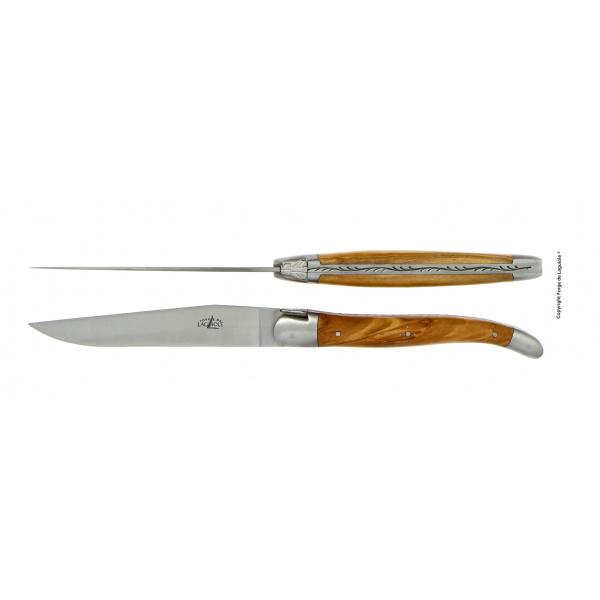 Achat couteaux laguiole olivier