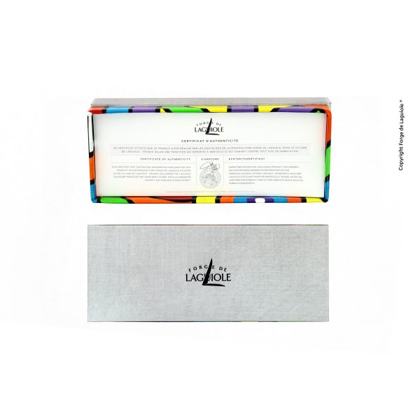 """Boite Seize COLLECTOR - LIMITED EDITION - Seize folding knife - Sublimation Street Art """"Antares"""""""
