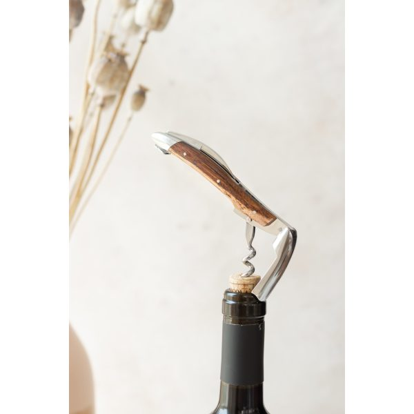 Kopie von IMG 6719 - Sommelier knife, shiny finish with Wine stock handle