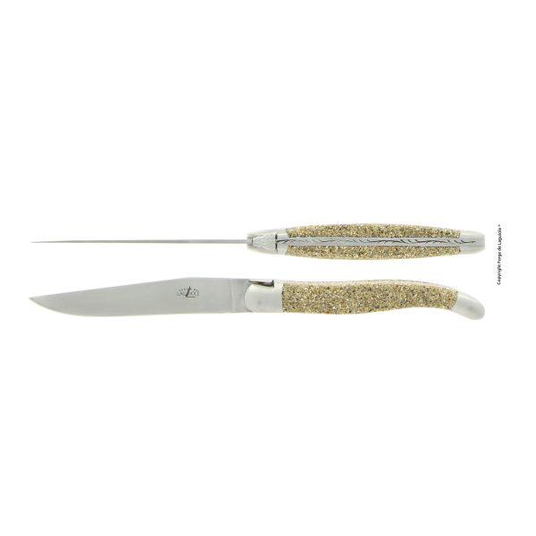 Couteau de table en seble mont saint michel